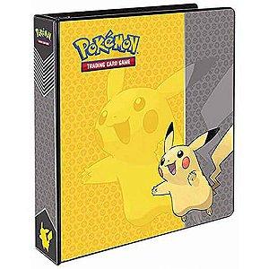 Álbum Cartas Pokémon Pikachu Ultra Pro 180 Lugares