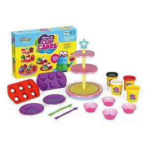 Massinha de Modelar Fábrica de Cupcakes Xplast