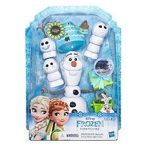 Brinquedo Hasbro Figura Olaf Frozen Fever