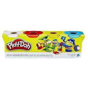 Massa De Modelar Play-doh Com 4 Sortidos
