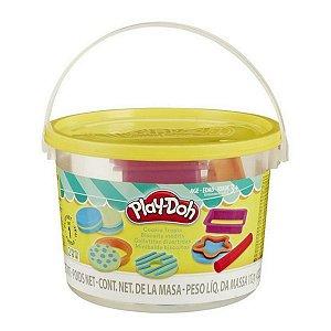 Massinha Play-Doh Hasbro Mini Balde Biscoitos