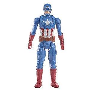 Boneco Titan Hero Marvel Capitao America