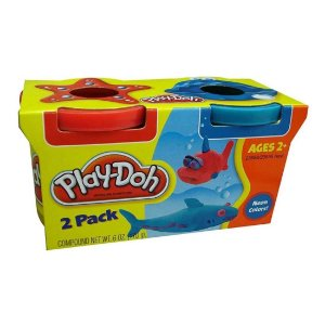Massinha De Modelar Play-doh Pote Com 2 Cores