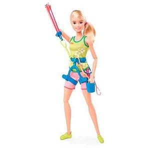 Boneca Barbie Olimpiadas Escalada Esportiva