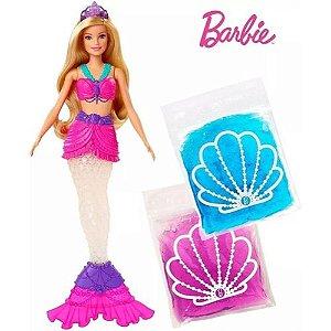 Boneca (o) Barbie Sereia Slime