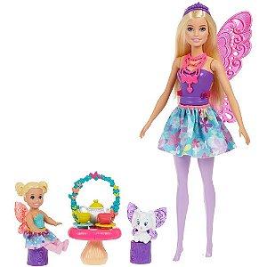 Barbie Dia De Pets Com Animais De Estimação Festa Do Cha Gjk