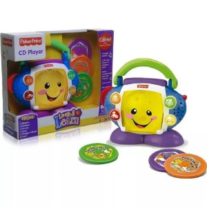 Fisher Price CD Player Aprender e Brincar