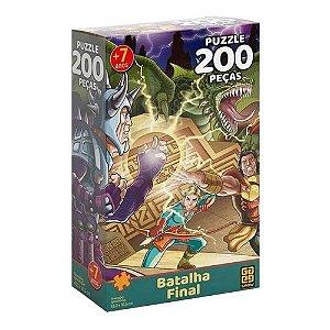 Quebra-cabeça Batalha Final 200 Peças Grow