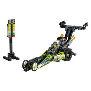 Lego Technic Blocos De Montar Dragster Com 225 Peças 42103