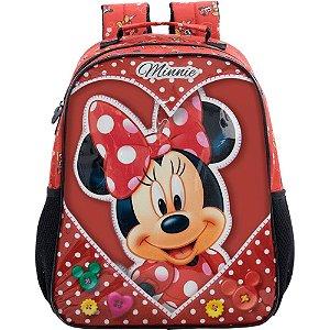 Mochila 14 Minnie Love - 8913 - Artigo Escolar