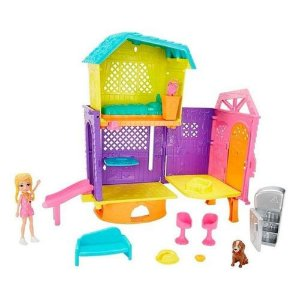 Playset Polly Pocket Club House - Espaços Secretos Mattel