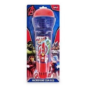 Microfone Com Eco Avengers