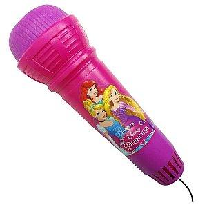 Microfone Plast Com Eco Princesa