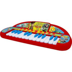 Teclado Musical Infantil Toy Story/6pc Loie