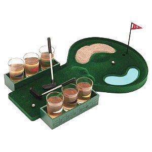Drinking Game Golf com 13 Peças