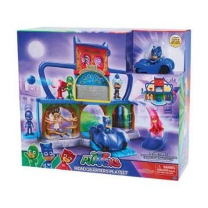 PJ Masks Quartel General Com Veículo DTC