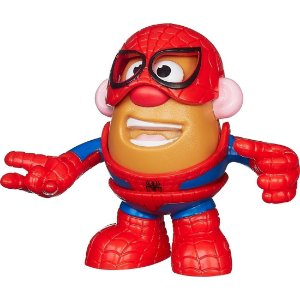 Boneco Mr. Potato Head Homem Aranha Marvel
