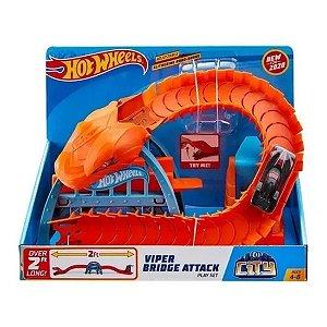 Pista Hot Wheels Ponte De Cobra