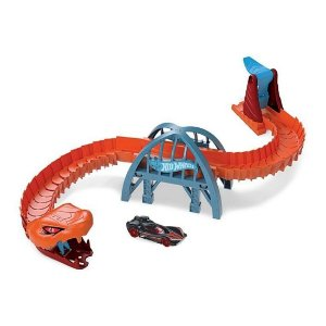 Pista Hot Wheels Ponte De Cobra