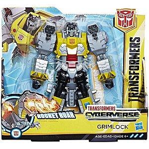 Transformers Cyberverse Ultra Class Grimlock E1908 - Hasbro