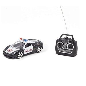 Carrinho Controle Remoto Pica Pau Police Car