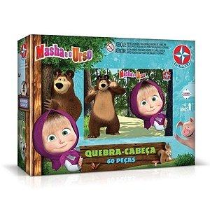 Quebra Cabeças 60 Peças Masha E O Urso - Estrela