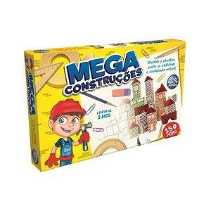 Brincando de Engenheiro Mega Construções 150 Peças Madeira