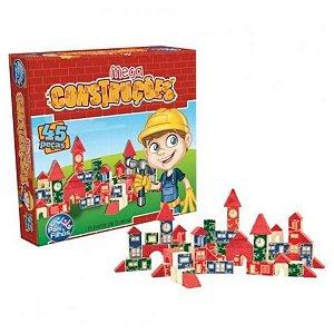 Mega Construções 45 Peças - Pais e Filhos