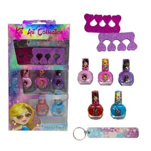 Kit Infantil Art Collection! Disco Teen