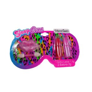 Kit de Maquiagem Infantil Sleep Oven Discoteen