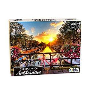 Quebra-Cabeça Amsterdam 500 peças