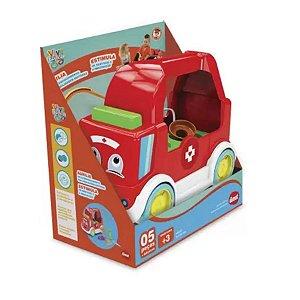 Brinquedo Educativo Ambulância Doctor Kid