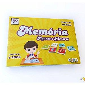 Jogo da Memória: Figuras e Números