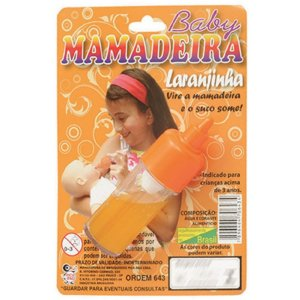 Mamadeira Laranjinha Some O Líquido