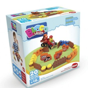 Brinquedo Infantil Box Fazendinha Dismat
