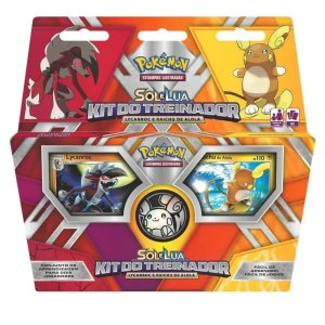 Kit Do Treinador Pokémon Sol E Lua