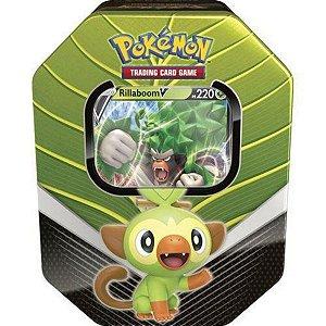 Lata Poderosos Pokémon Rillaboom V Parceiros De Galar