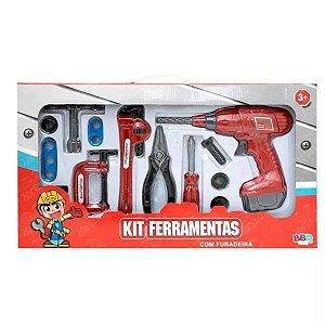 Kit De Ferramentas Infantil Com Furadeira