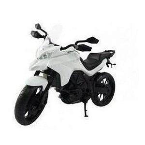 Moto Infantil Multi Motors - Pneus Borracha - Roma - Branco