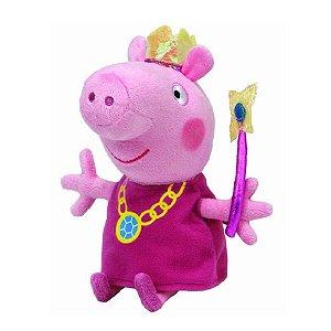 Pelúcia Princesa Peppa Pig Beanie Babies Pequena
