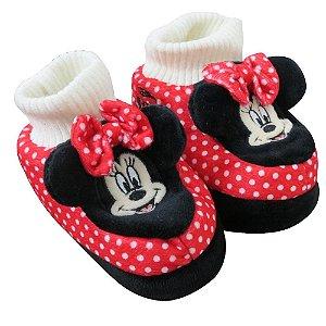 Pantufa Infantil Ricsen Minnie para bebê