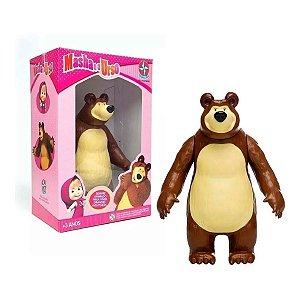 Boneco Urso Em Vinil - Masha E O Urso