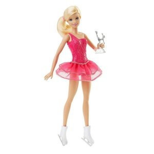 Boneca Barbie Patinadora no Gelo