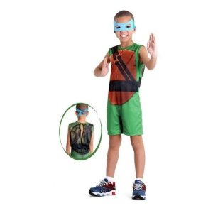 Fantasia Infantil Tartarugas Ninjas Leonardo M - Sulamericana