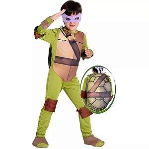 Fantasia Donatello Luxo Tartarugas Ninja - M