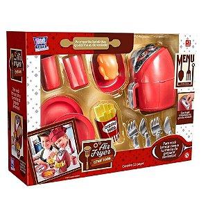 Air Fryer Chef Kids Vermelho