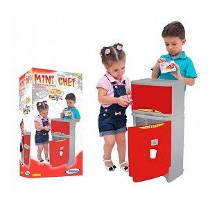 Geladeira Duplex Mini Chef