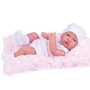Boneca Anny Doll Baby Menina Reborn Shorts e Blusa