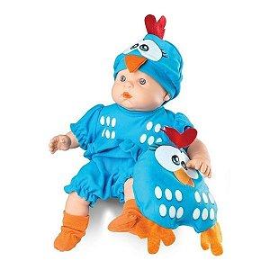 Boneca Meu Bebê - Galinha Pintadinha