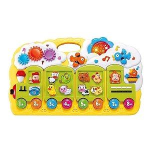 Brinquedo Educativo Trenzinho Musical